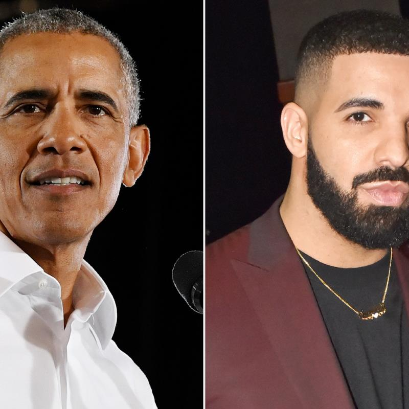 Barack Obama Says Drake Has His Family's 'Stamp of Approval' to Play Him in a Potential Biopic