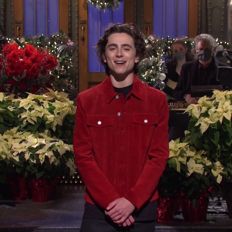 Timothée Chalamet Makes SNL Hosting Debut, Impersonates Harry Styles in Sketch