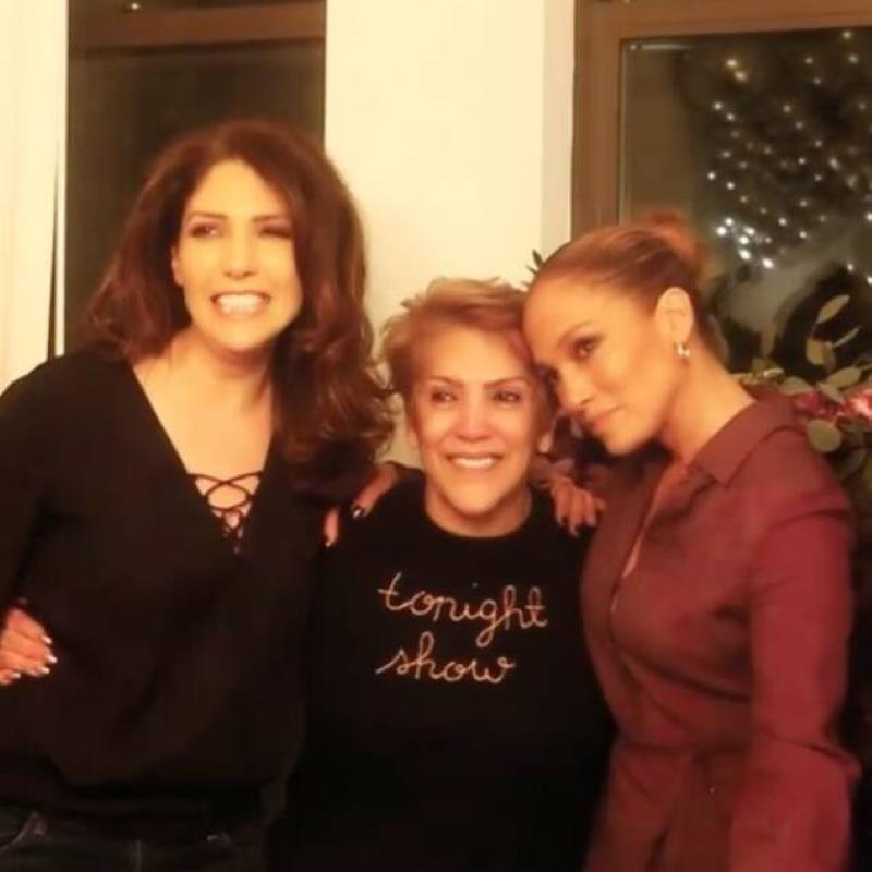 Watch Jennifer Lopez Surprise Her Mom With a 75th Birthday Party